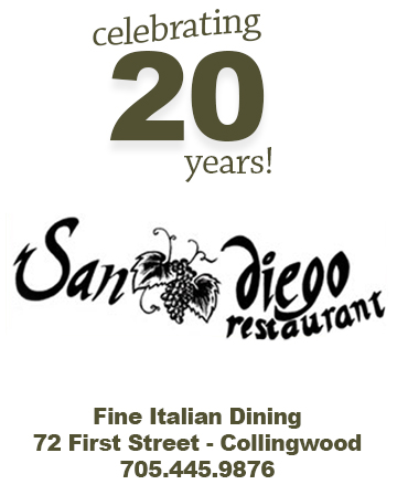 Sandiego Italian Restaurant has been serving outstanding food in Collingwood for over 20 years.